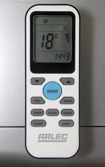 arlec portable air conditioner instructions