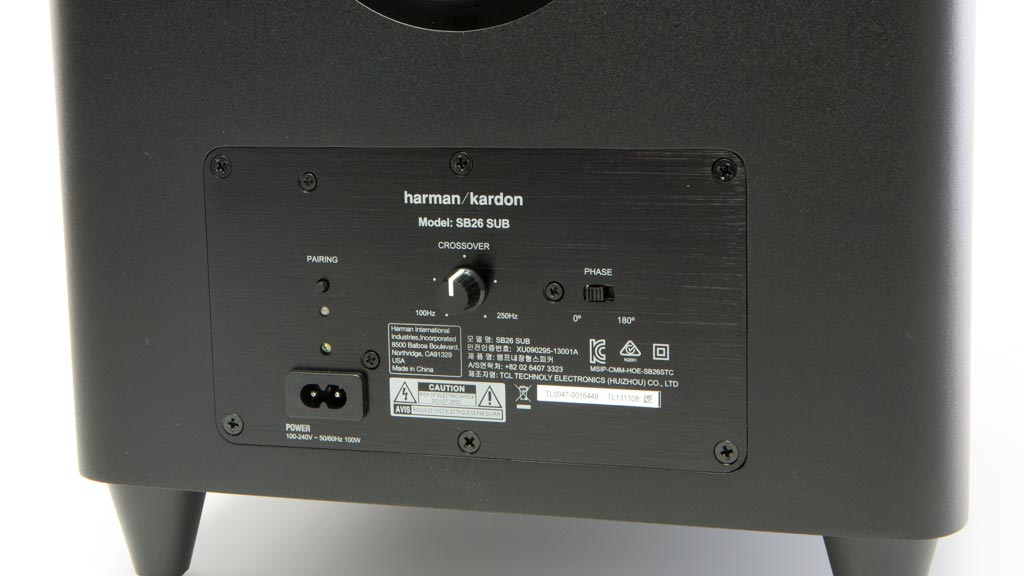 harman kardon sb 26 test