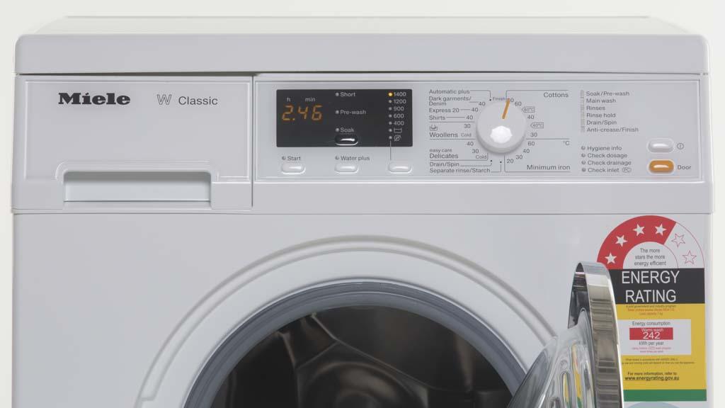 miele wda110 washing machine reviews choice. Black Bedroom Furniture Sets. Home Design Ideas