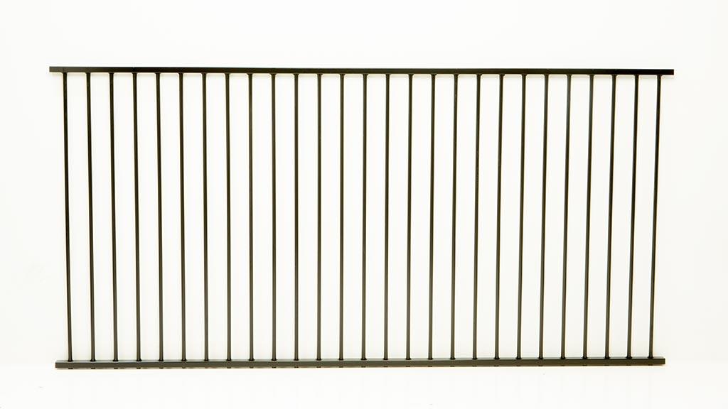 Protector Aluminium Bunnings Aluminium Flat Top Panel Pool Fence