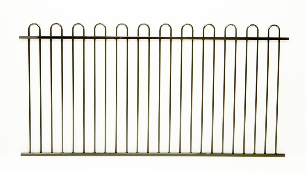 Protector Aluminium Bunnings Aluminium Loop Top Panel Pool Fence