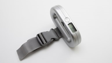 samsonite luggage scale how to use