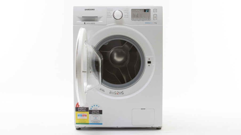 washing machine reviews samsung ww75j4213iw washing machine reviews choice 12285