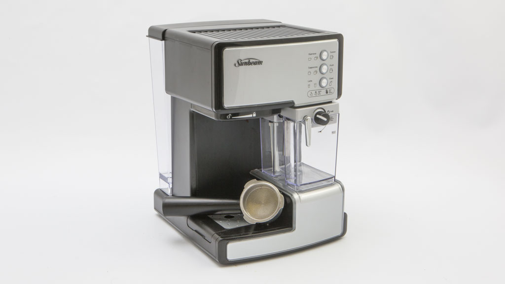 sunbeam caf barista em5000 home espresso coffee machine. Black Bedroom Furniture Sets. Home Design Ideas
