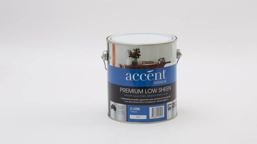 Accent Premium Interior Low Sheen Paint