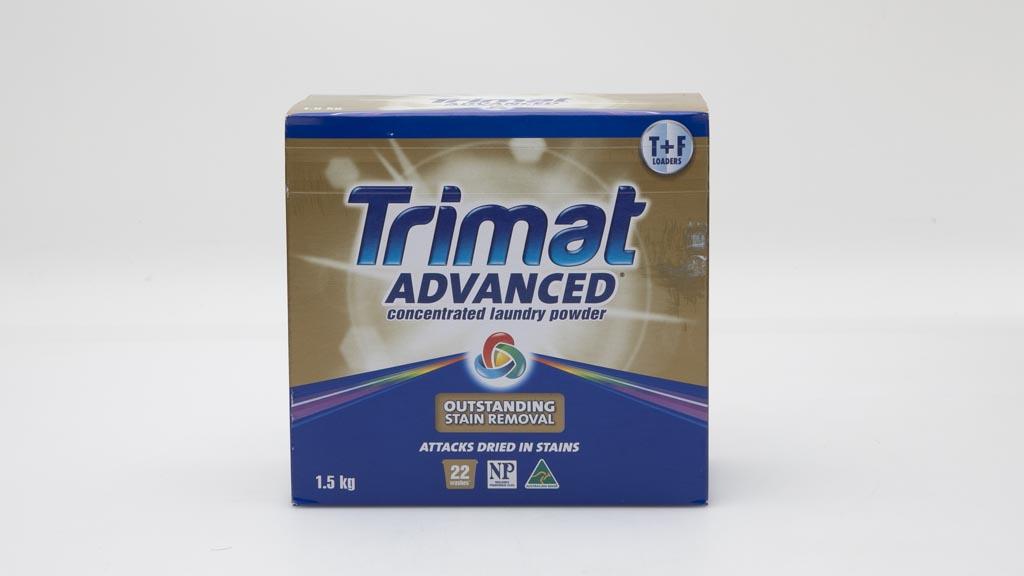Aldi Trimat Advanced Concentrate Laundry Powder Front