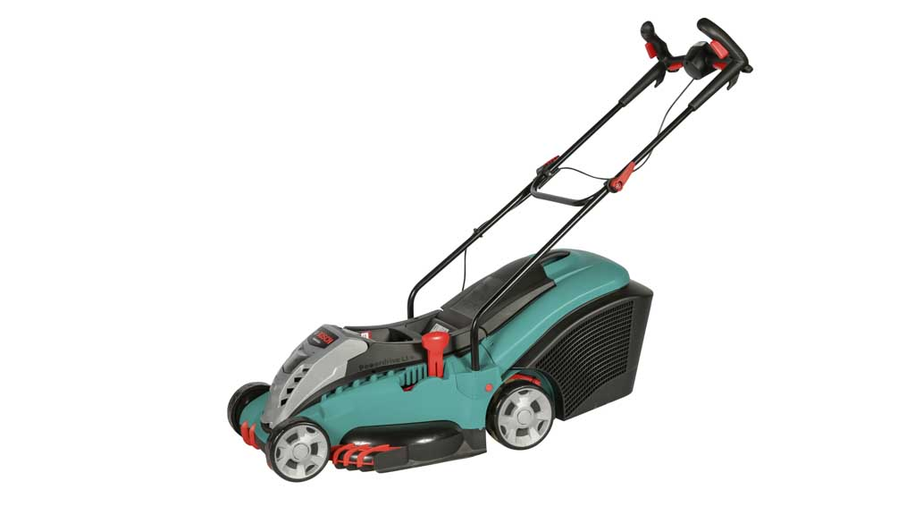 bosch rotak 43 li battery cordless and electric corded lawnmower reviews choice. Black Bedroom Furniture Sets. Home Design Ideas