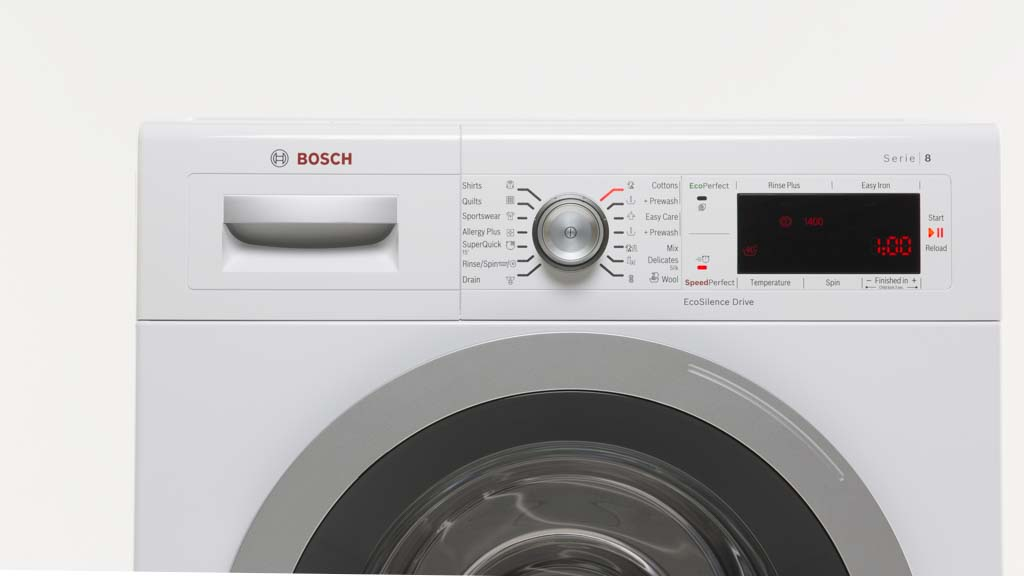 bosch waw28460au washing machine reviews choice. Black Bedroom Furniture Sets. Home Design Ideas