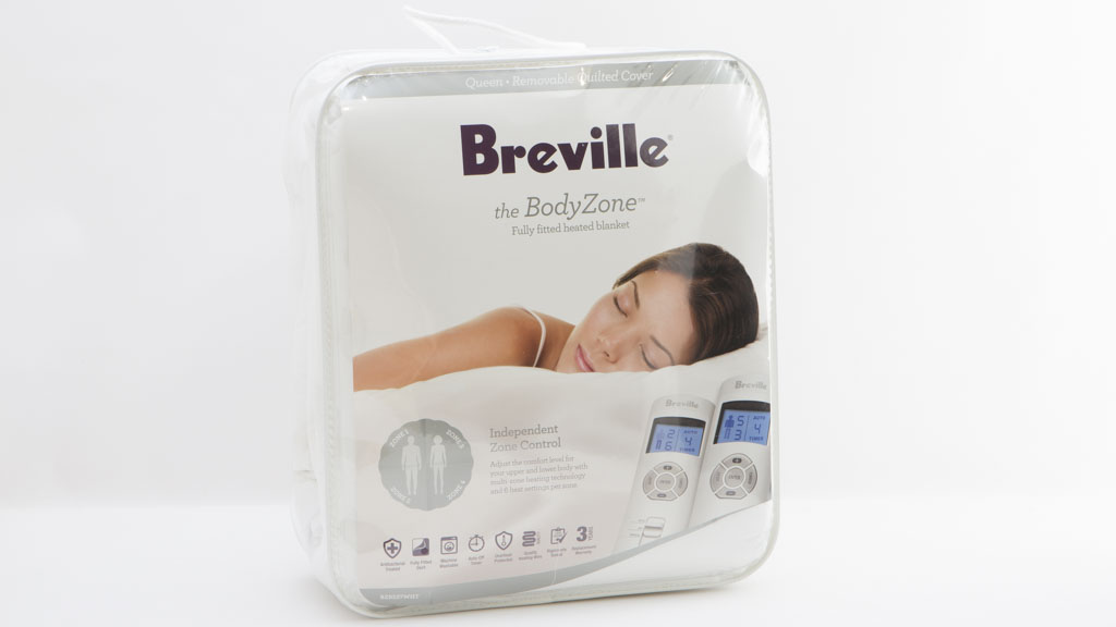 Breville BodyZone Fully fitted heated blanket BZB537WHT