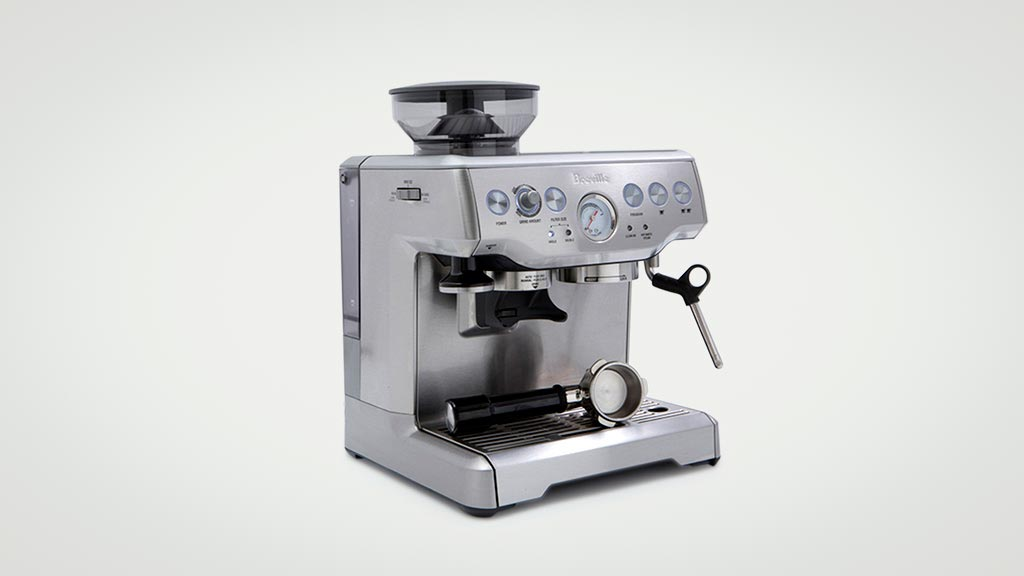 Breville The Barista Express BES870 - Home espresso coffee machine reviews - CHOICE