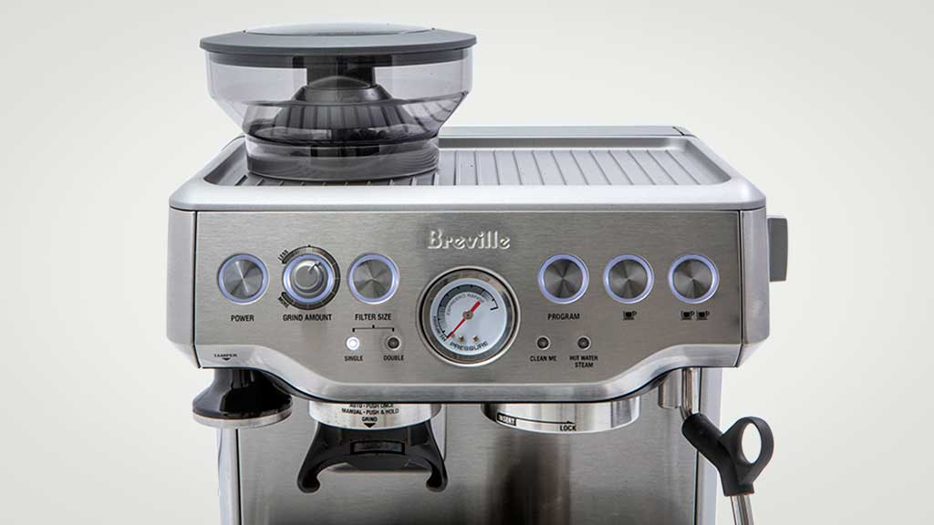 breville the barista express bes870 home espresso coffee. Black Bedroom Furniture Sets. Home Design Ideas