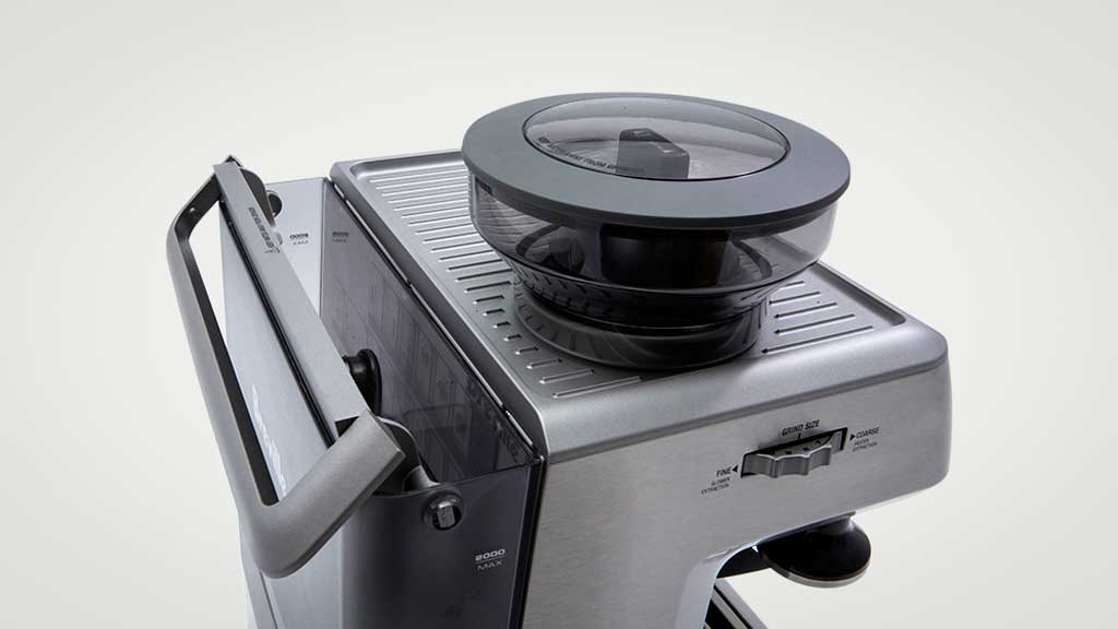Breville Coffee Maker Pods : Breville The Barista Express BES870 - Home espresso coffee machine reviews - CHOICE