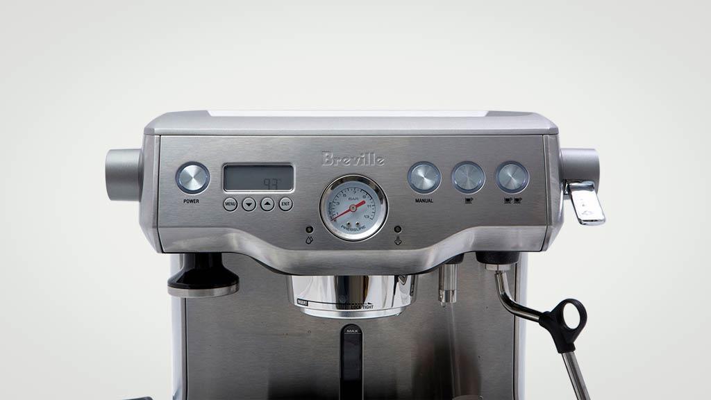 Dual Espresso Coffee Maker Reviews : Breville The Dual Boiler BES920 - Home espresso coffee machine reviews - CHOICE