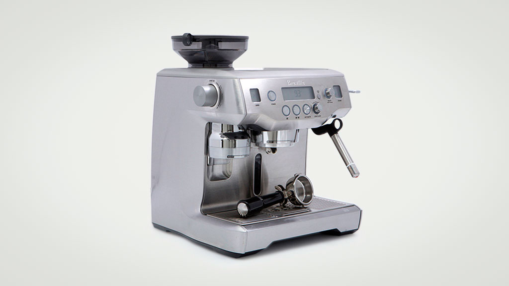 Breville The Oracle BES980 - Home espresso coffee machine ...