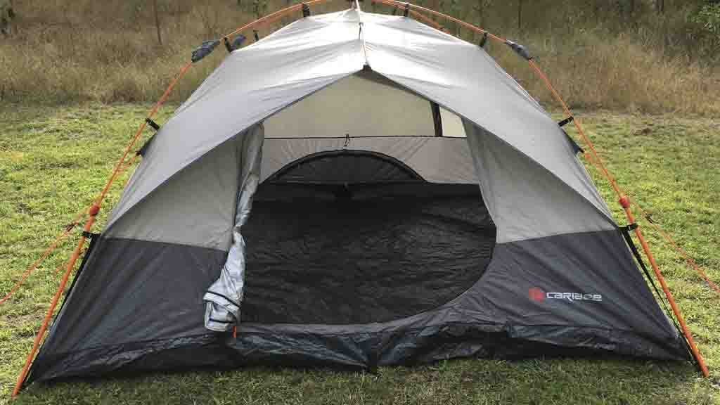 Caribee Spider 4 Easy Up Tent reviews and test & Caribee Spider 4 Easy Up Tent - Tent reviews - CHOICE