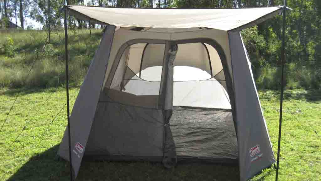 & Coleman Instant Tent 6 Person - Tent reviews - CHOICE