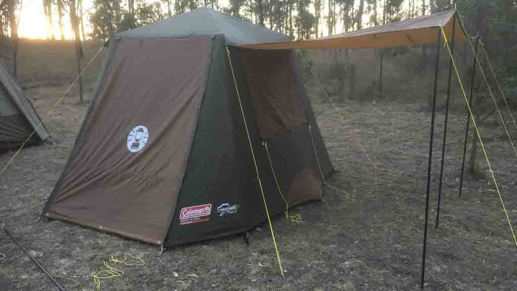 & Coleman Instant Up 4P Gold Series - Tent reviews - CHOICE