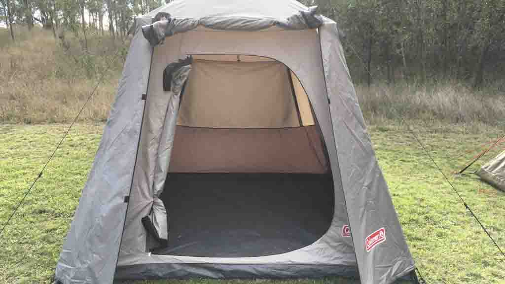 fa0b89d033f Coleman Instant Up Tent 4 Person - Tent reviews - CHOICE