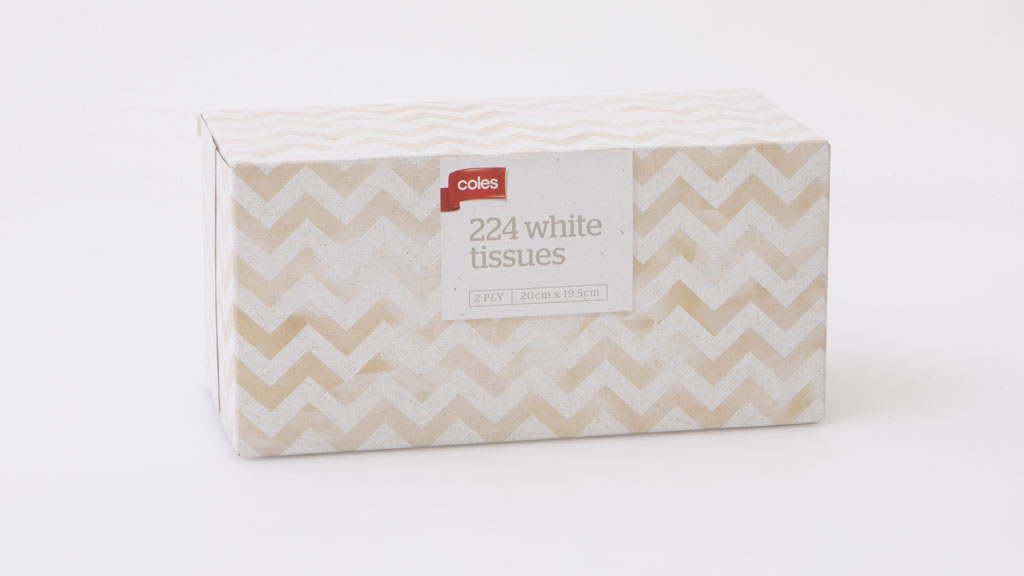 coles 224 white tissues 2 ply tissue reviews choice