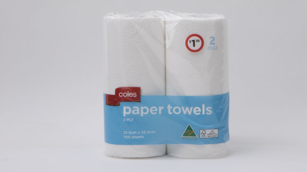 Coles Red Ribbon Paper Towels