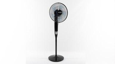 Dimplex 40cm High Velocity Floor Fan Dcpf40gblk Pedestal
