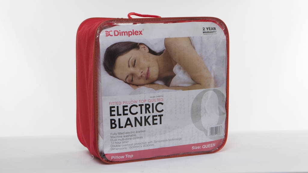 Dimplex Fitted Pillow Top Quilted Electric Blanket DHEBPTQ