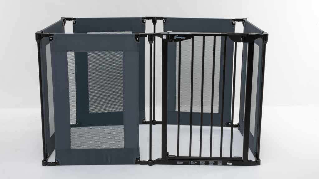 Dreambaby Brooklyn Converta Play-Pen Gate with mesh sides F2031 carousel image