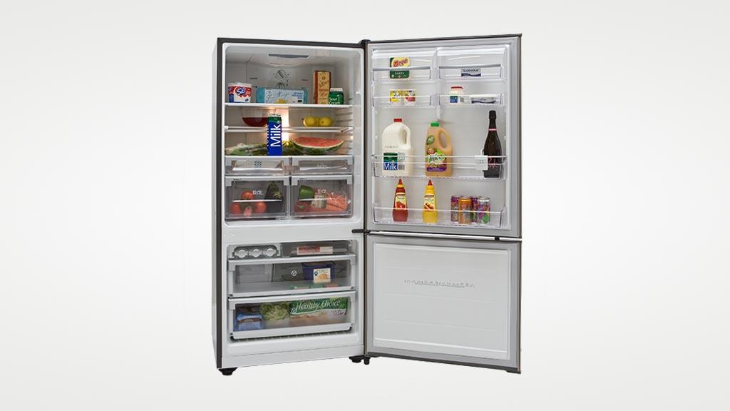 electrolux ebm5100sc fridge