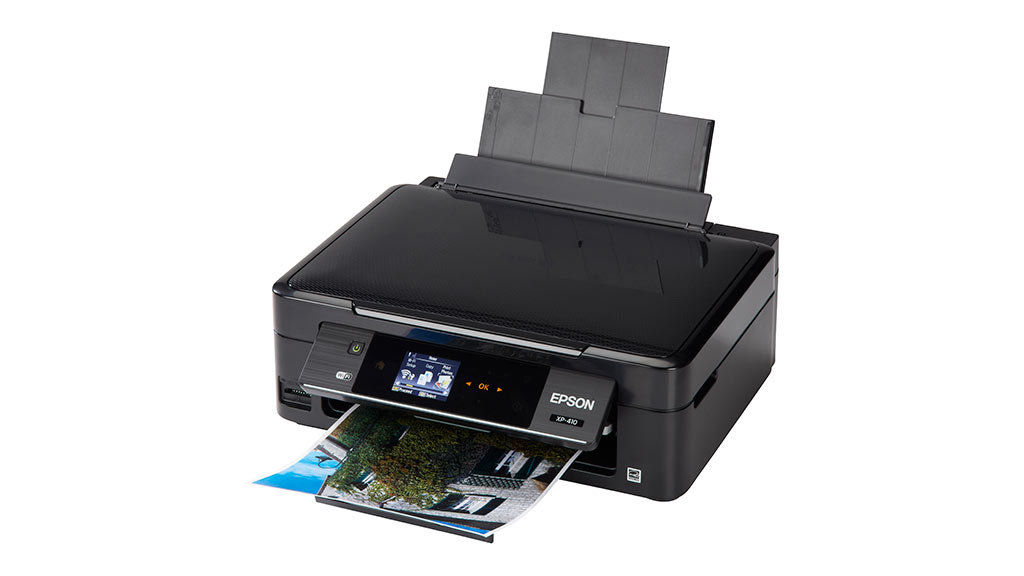 how to connect epson xp-410 to a computer