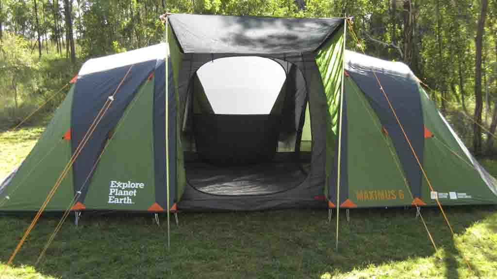 & Explore Planet Earth Maximus 6 Dome Tent - Tent reviews - CHOICE