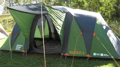 Explore Planet Earth Maximus 6 Dome Tent