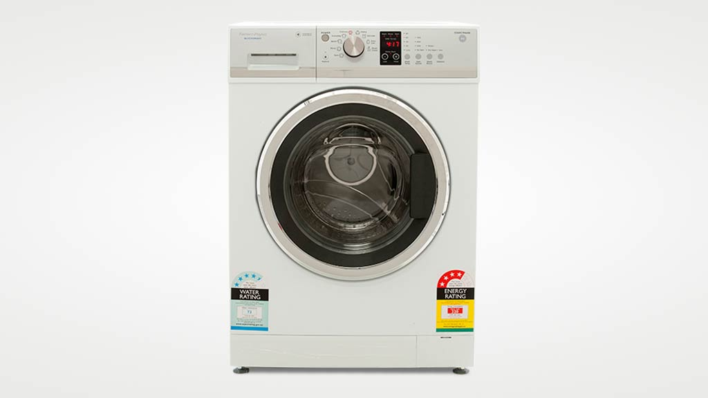 Fisher and Paykel WH8560J1 washing machine-front-view