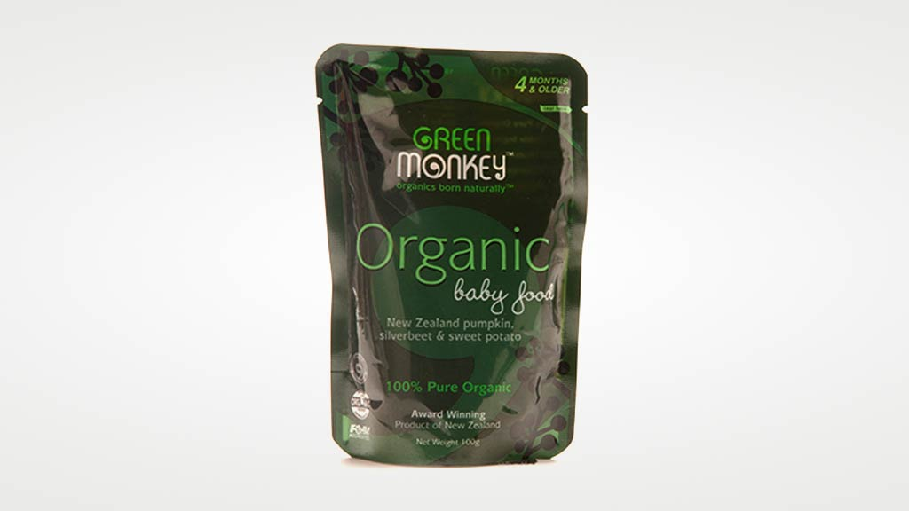 green monkey 100 organic baby food Green monkey™ is a super-premium baby food developed for babies from  around six months  australia's and new zealand's first certified organic baby  food.
