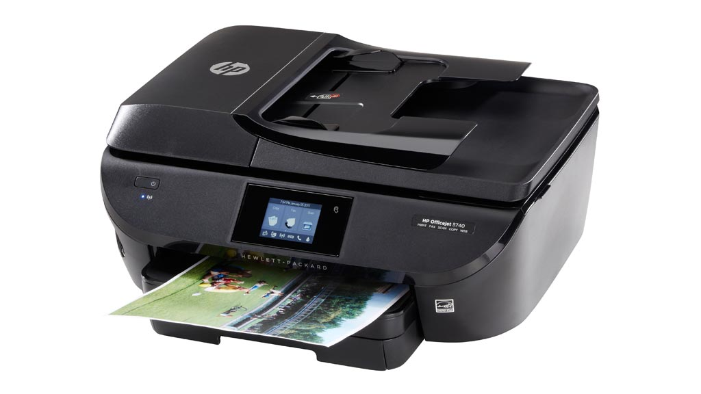 hp officejet 5740 e all in one multifunction and basic printer reviews choice. Black Bedroom Furniture Sets. Home Design Ideas