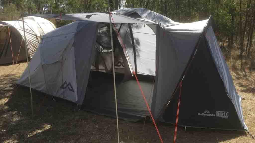 & Kathmandu Retreat 150 - Tent reviews - CHOICE