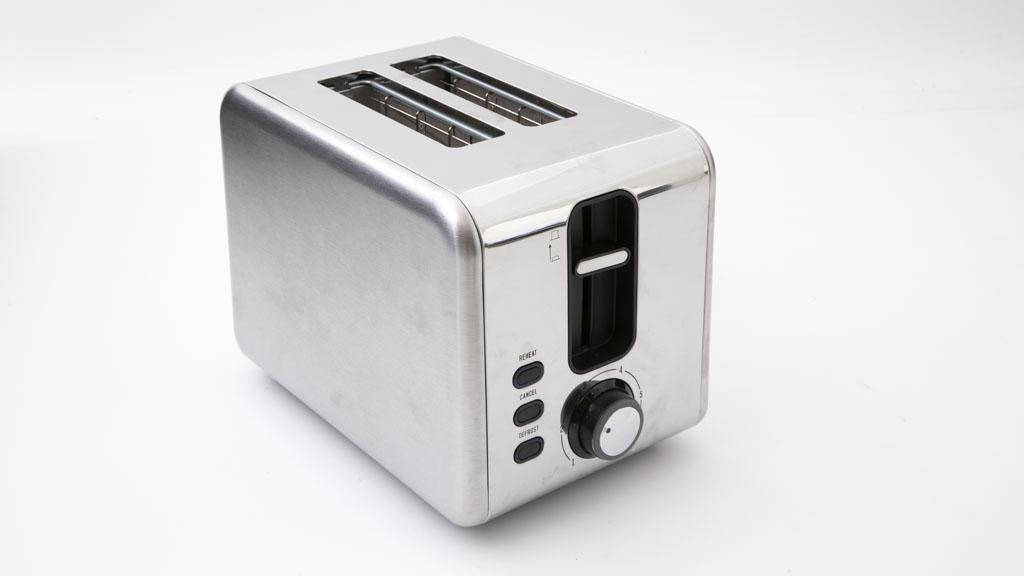 Kmart Anko 2 Slice Stainless Steel Toaster LD-T7007 carousel image