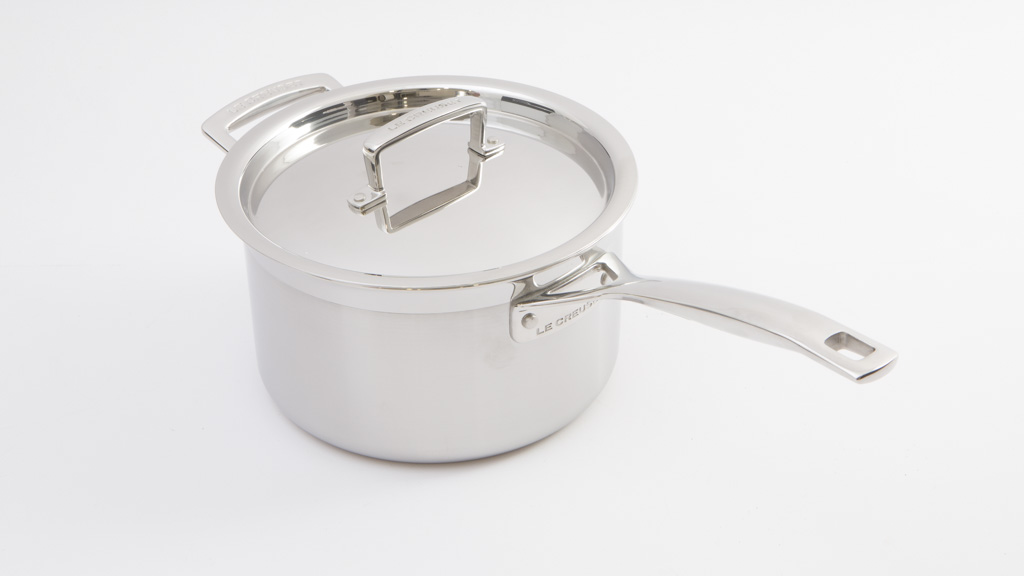 Le Creuset Classic 3ply stainless steel saucepan - Induction ...