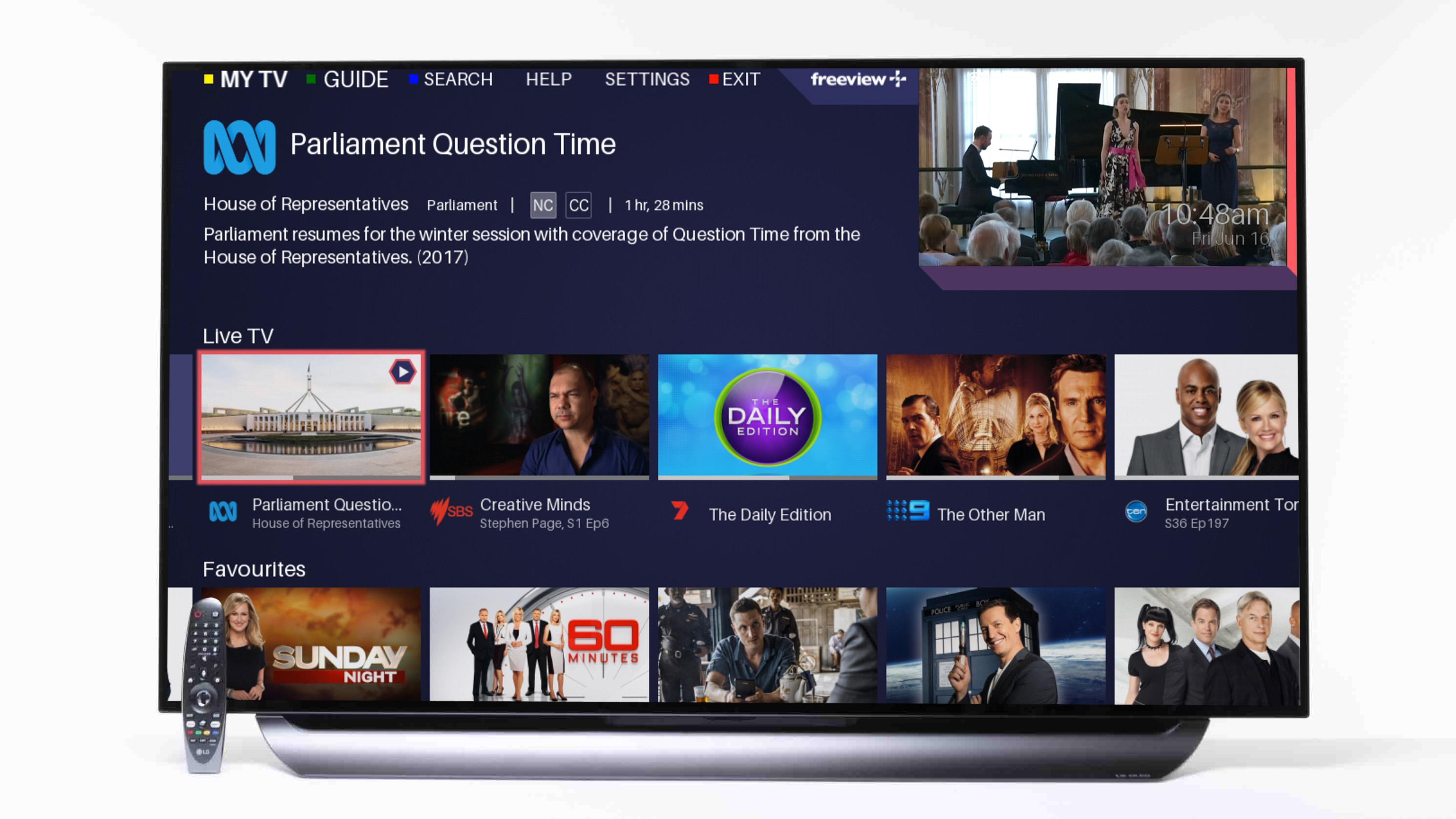 LG OLED55C8PTA - TV reviews - CHOICE