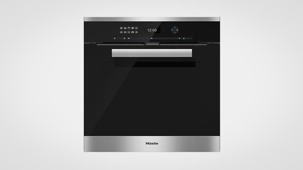 miele h 6461 bp cleansteel wall oven reviews choice. Black Bedroom Furniture Sets. Home Design Ideas
