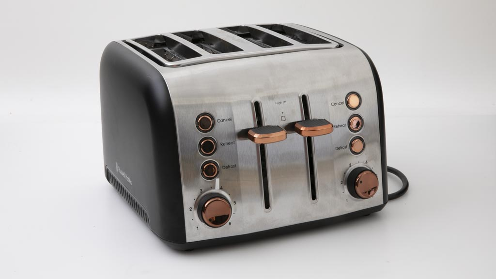 Russell Hobbs Brooklyn 4 Slice Toaster Copper RHT94COP carousel image
