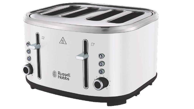 Russell Hobbs Legacy 4 Slice Toaster RHT455WHI carousel image