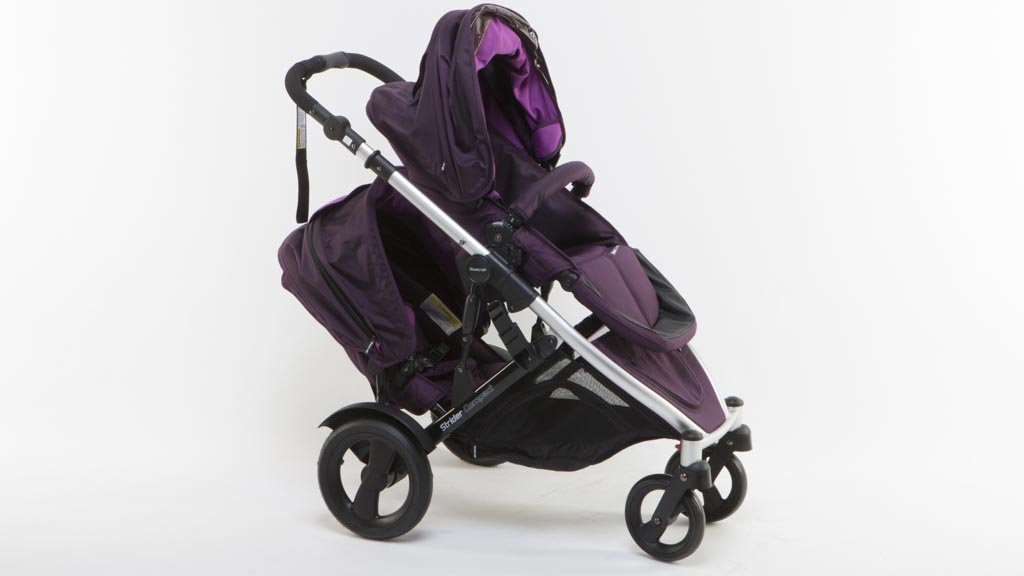 Steelcraft Strider Compact with second seat - Double stroller ...