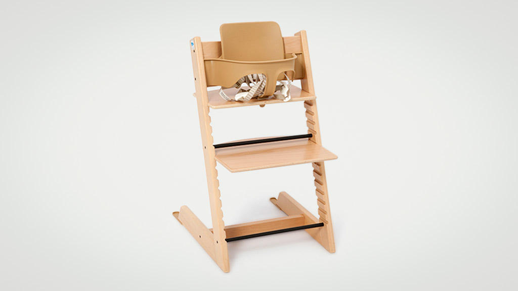 Stokke Tripp Trapp with baby set high chair High chair