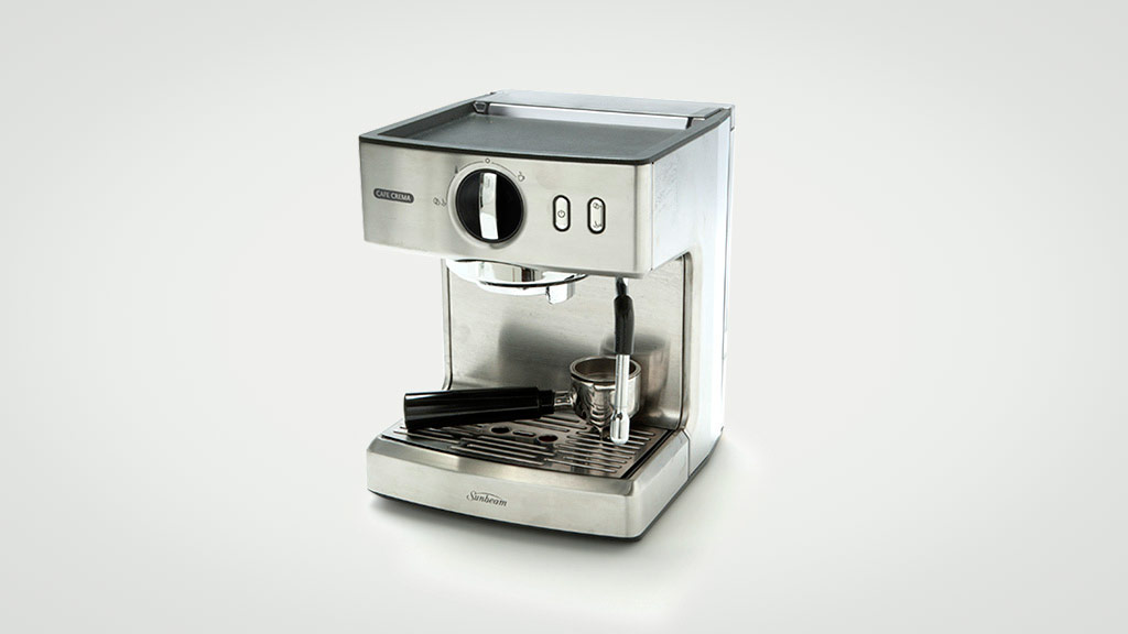 sunbeam cafe barista manual coffee machine review