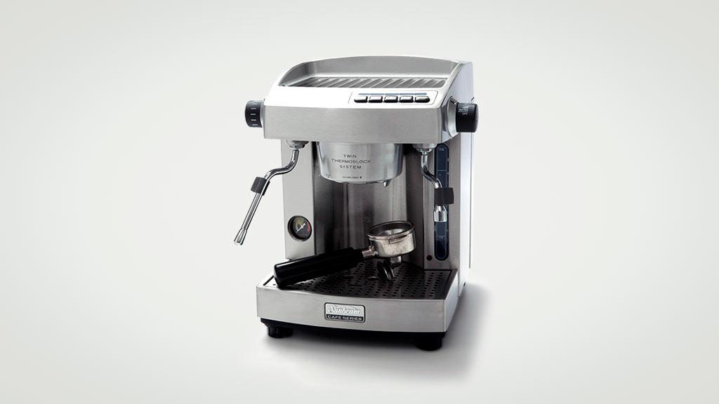 Sunbeam caf series em6910 home espresso coffee machine reviews series em6910 manual semiauto espresso machine fandeluxe Images