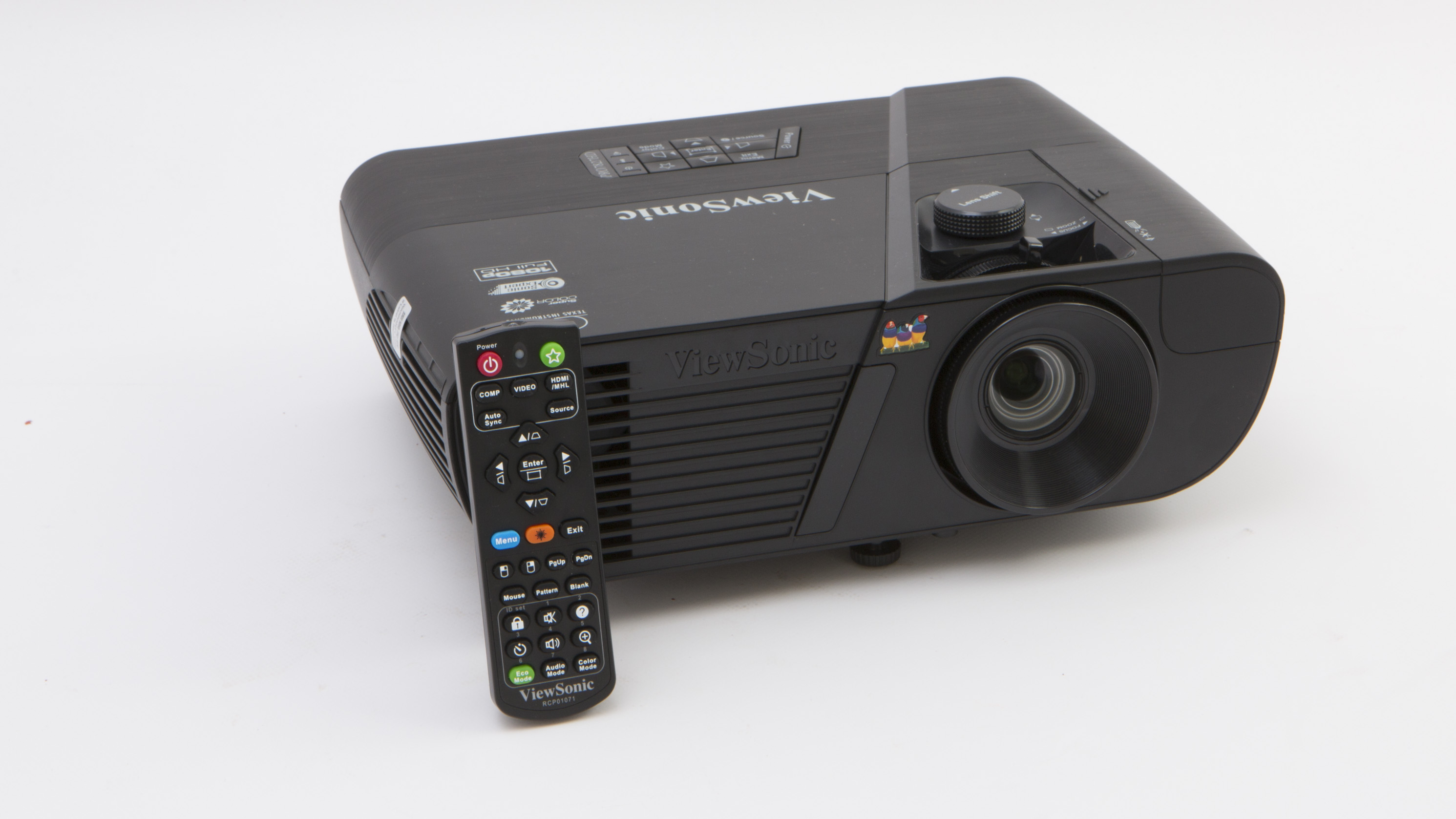 Viewsonic pro7827hd hd projector reviews choice for Miroir hd pro projector review