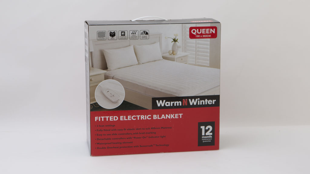 WarmNWinter Fitted Electric Blanket WFPB-Q