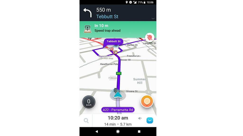 Waze Waze for android 4 42 - Car GPS and app reviews - CHOICE
