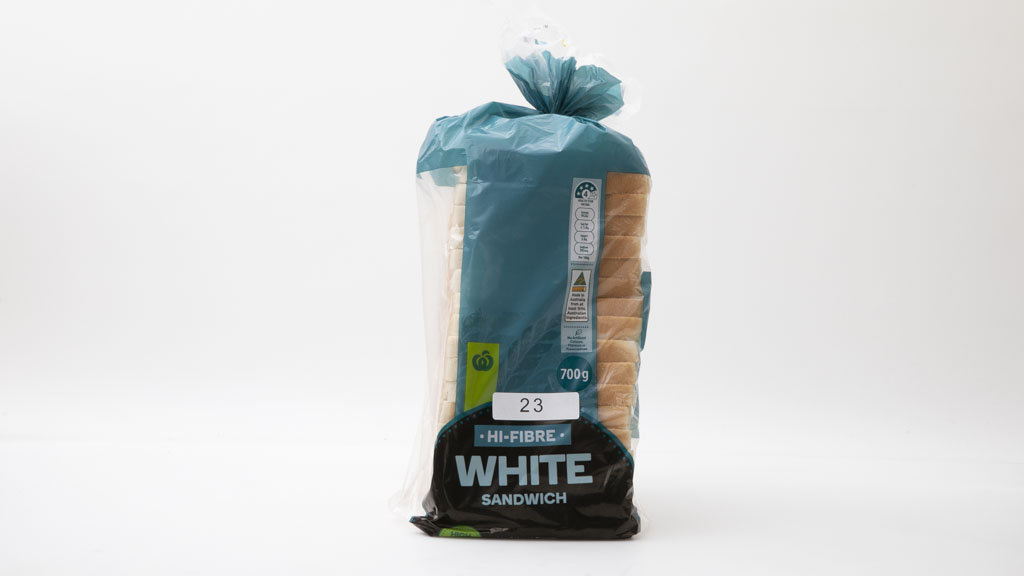 Woolworths Hi-Fibre White Sandwich carousel image